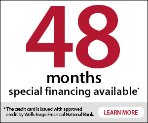 Special Financing Available with approved credit.